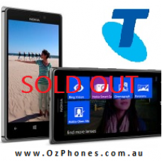 Nokia Lumia 925 4G LTE Black Telstra 4G Next G