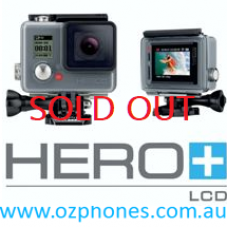 GoPro Hero+ LCD Waterproof Action Camera